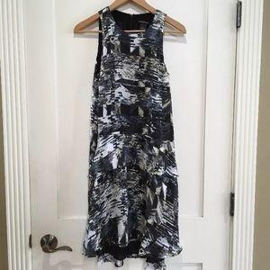 [Club Monaco] Geometric Shift Dress drop waist